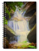 Glen Iris Waterfall Spiral Notebook