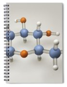 Glucose Molecule Spiral Notebook