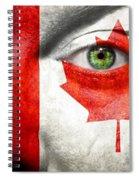 Go Canada Spiral Notebook