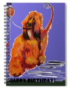 Go Red Go Spiral Notebook