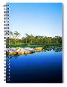 Golf Course At The Lakeside, Regatta Spiral Notebook