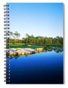 Golf Course At The Lakeside, Regatta Spiral Notebook