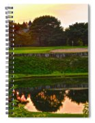Golf Course Beauty Spiral Notebook