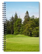 Golf Course Spiral Notebook