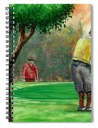 Golf Outing Spiral Notebook