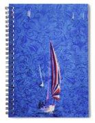 Gone Sailing Spiral Notebook