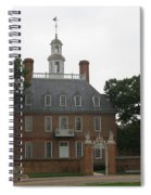 Governers Palace Colonial Williamsburg Spiral Notebook