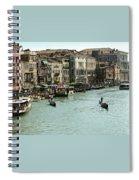 Grand Canal Spiral Notebook