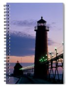 Grand Haven Lighthouse Spiral Notebook