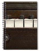 Grand Pianoforte Spiral Notebook