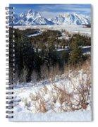 Grand Teton Landscape Spiral Notebook