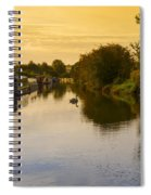Grand Union Canal In Berkhampsted Spiral Notebook