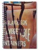 Great American Food Truck Spiral Notebook