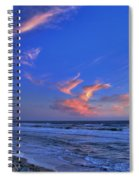 Great Highway Sunset Spiral Notebook