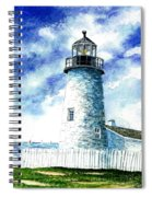Great Lakes Light II Spiral Notebook