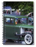Green Limo Spiral Notebook