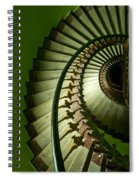 Green Spiral Staircase Spiral Notebook