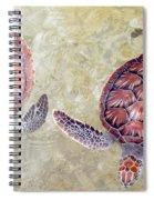 Green Turtles Spiral Notebook