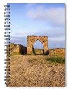 Grosnez Castle - Jersey Spiral Notebook