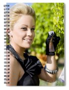 Growing Personal Wealth Spiral Notebook