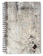 Grunge Concrete Texture Spiral Notebook