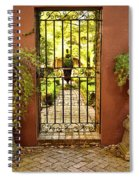 Guardians Of The Garden Spiral Notebook