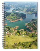 Guatape Lake Spiral Notebook