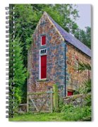 Guernsey Barn Spiral Notebook