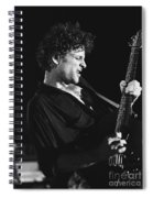 Guitarist Lyndsay Buckingham Spiral Notebook