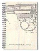 Gun Spiral Notebook