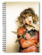 Hair Cut With Style Spiral Notebook