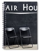 Hair House Spiral Notebook