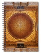 Hall Of Ambassadors In The Royal Alcazar Of Seville Spiral Notebook