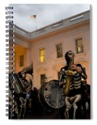 Halloween At The White House Spiral Notebook
