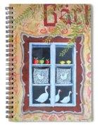 Halstatt Window Spiral Notebook
