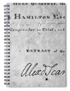 Hamilton: Appointment, 1777 Spiral Notebook
