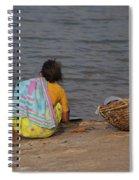 Hampi River Scenes Spiral Notebook