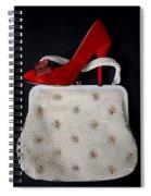 Handbag With Stiletto Spiral Notebook