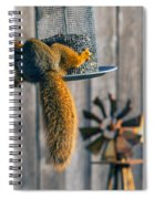 Hanging In There Spiral Notebook