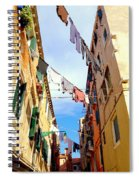 Hanging In Venice Spiral Notebook