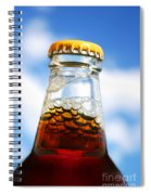 Happy New Beer Spiral Notebook