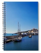 Harbor In Ibiza Town Spiral Notebook