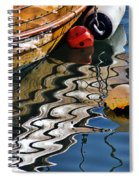Harbour Reflections Spiral Notebook