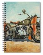 Harley Davidson Wla 1942 Spiral Notebook