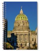 Harrisburg, Pennsylvania, City Skyline Spiral Notebook