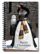 Harry Christmas Spiral Notebook