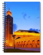 Hassan II Mosque In Casablanca Spiral Notebook