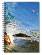 Makena Boogie Boarder Spiral Notebook