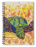 Hawaiian Sea Turtle  Spiral Notebook