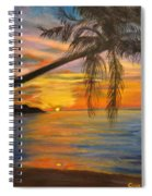 Hawaiian Sunset 11 Spiral Notebook